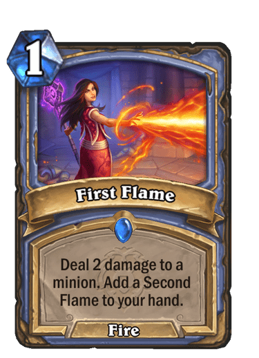 First Flame Card Image