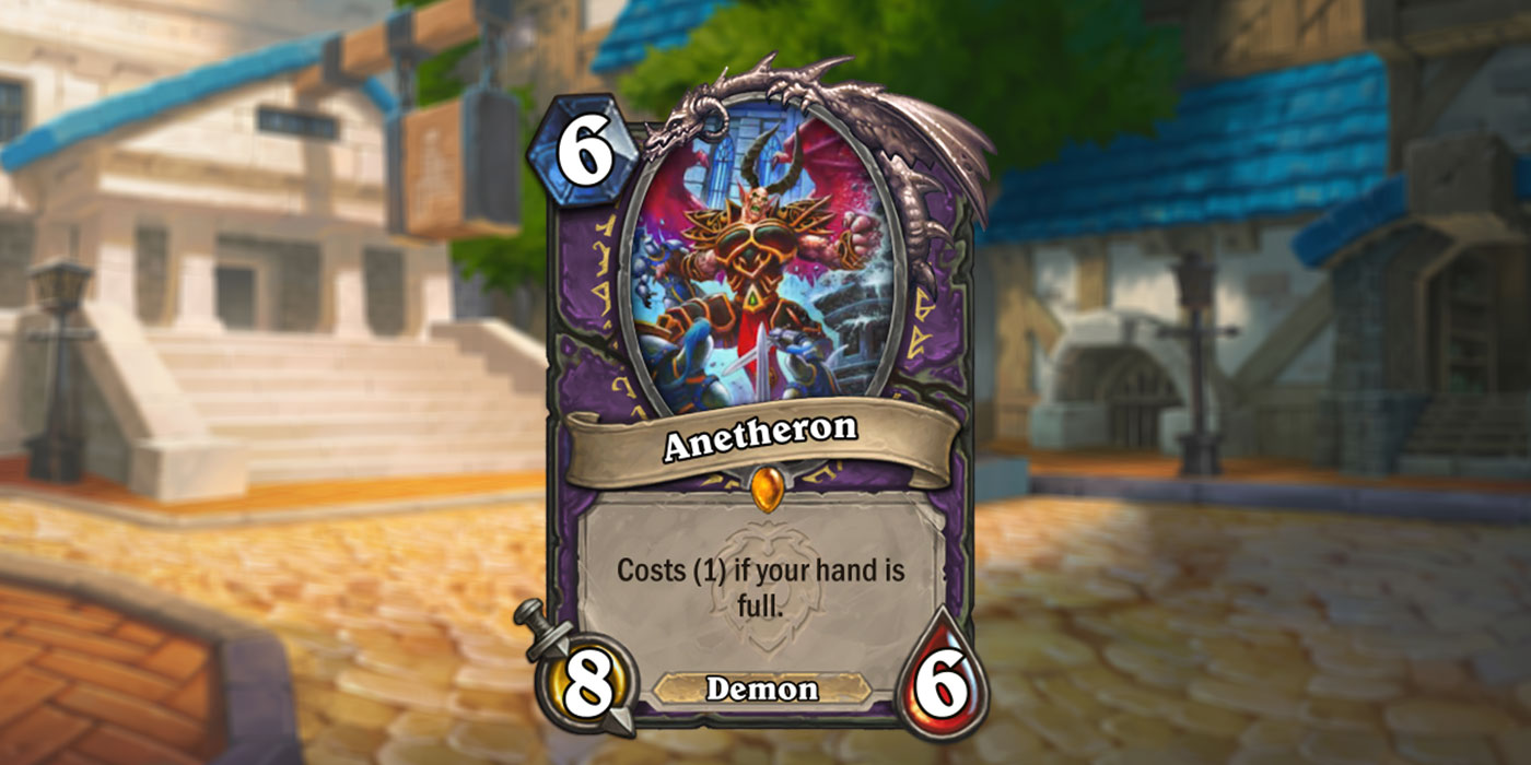 New Legendary Warlock Card Revealed for United in Stormwind by Blizzard & Friends - Anetheron