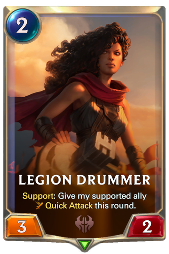 Legion Drummer Card Image