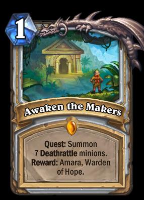 Awaken the Makers Card Image