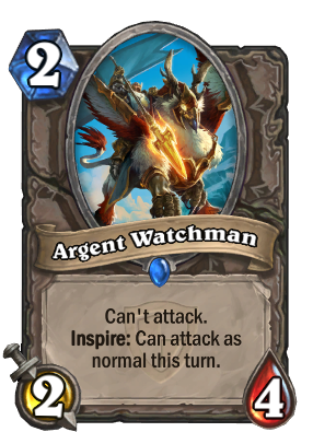Argent Watchman Card Image