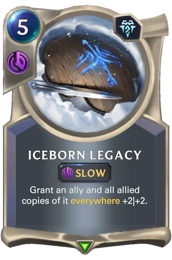 Iceborn Legacy Card Image