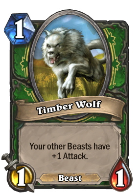 Timber Wolf Card Image
