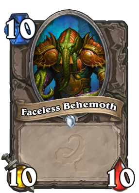 Faceless Behemoth Card Image