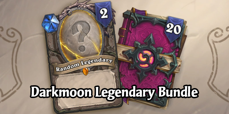 Give C'Thanks Bundle Now Live in the Hearthstone Shop - 2 Random Darkmoon Faire Legendaries + 20 Scholomance Packs