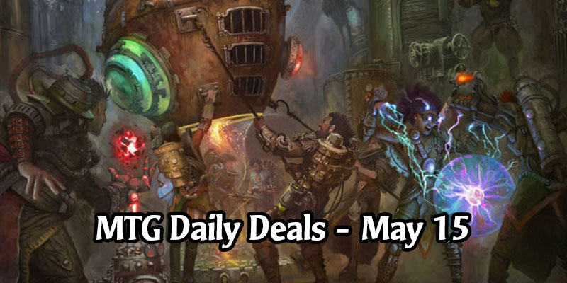MTG Arena Daily Deals for May 15, 2020 - 80% Off Experimental Frenzy