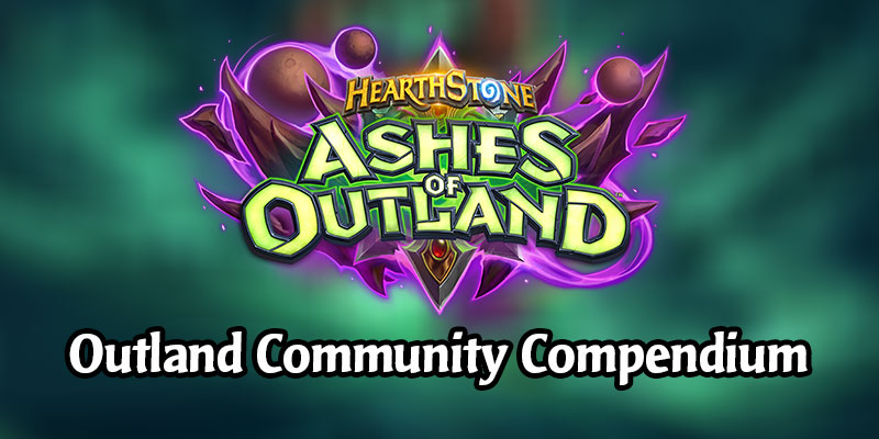 The Ashes of Outland Community Compendium is Live!