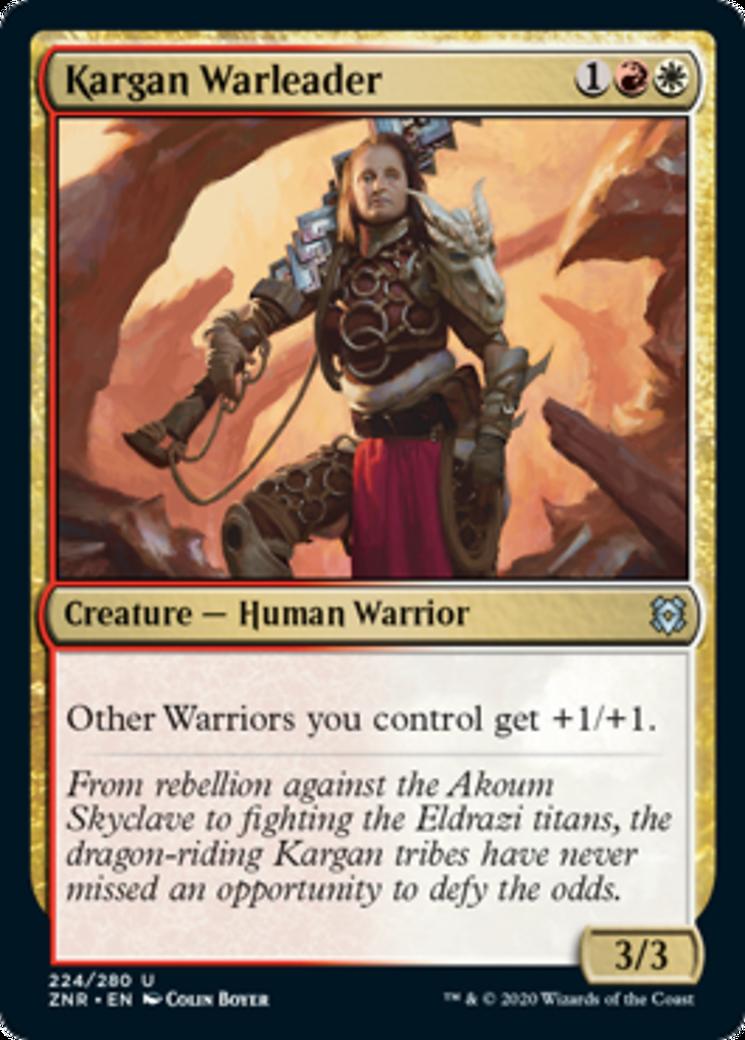 Kargan Warleader Card Image
