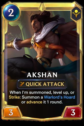 Akshan Card Image