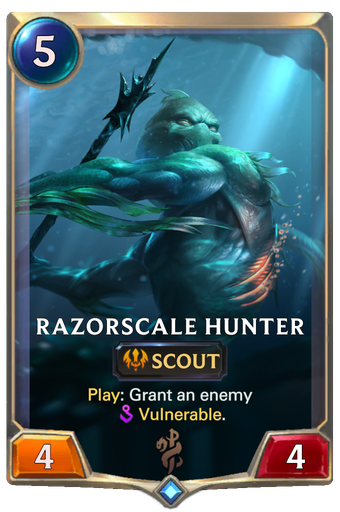 Razorscale Hunter Card Image