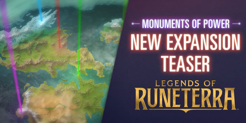 Legends of Runeterra's Next Expansion, Monuments of Power, Arrives October 14