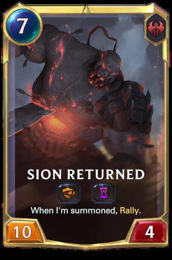 Sion Returned Card Image