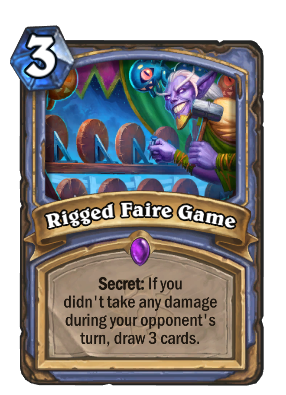 Rigged Faire Game Card Image