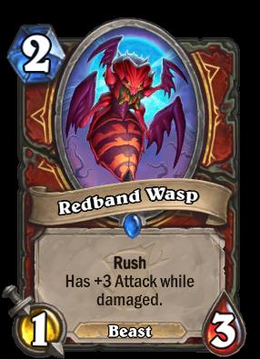 Redband Wasp Card Image