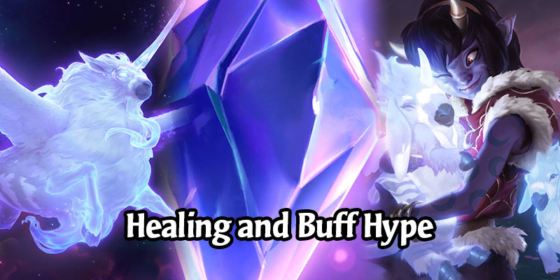 Try Out the Runeterra 1.11 Buffs with This Zany Healing Deck