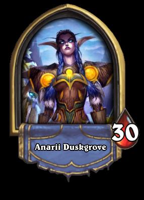 Anarii Duskgrove Card Image