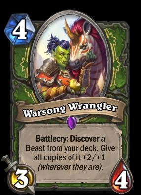 Warsong Wrangler Card Image