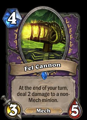 Fel Cannon Card Image