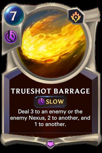 Trueshot Barrage Card Image