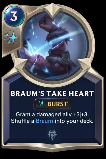 Braum's Take Heart Card Image