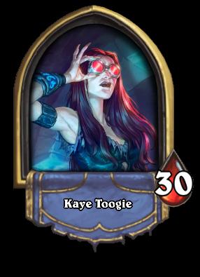 Kaye Toogie Card Image