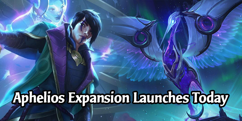 The Aphelios Champion Expansion Launches Today - 15 New Cards, Theorycraft Decks, Fresh Login Rewards