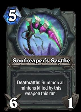 Soulreaper's Scythe Card Image
