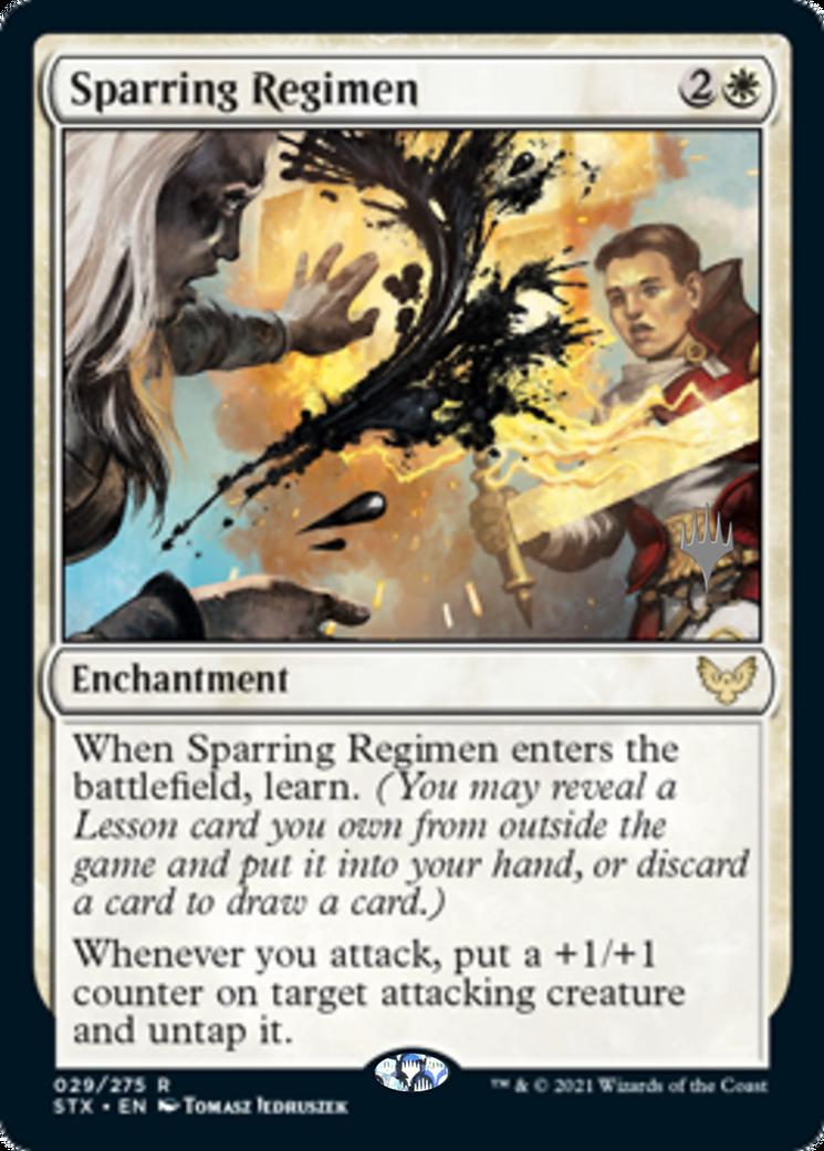 Sparring Regimen Card Image