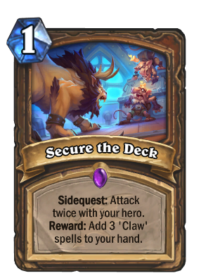 Secure the Deck Card Image