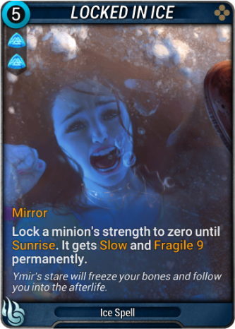 Locked in Ice Card Image