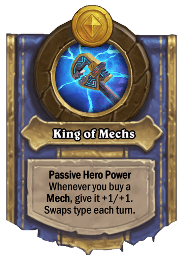 King of Mechs Card Image