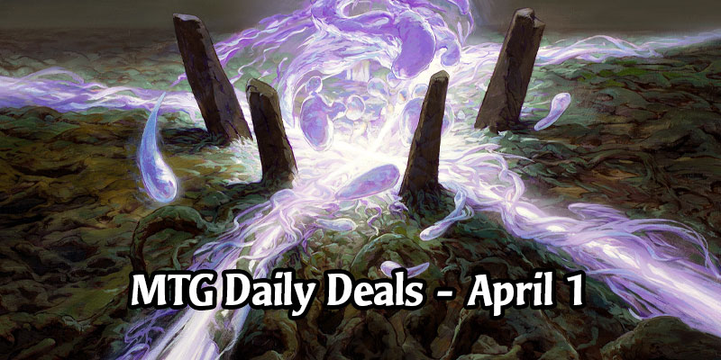 Daily Store Deals in MTG Arena for April 1, 2020 - 80% Off Leyline of the Void