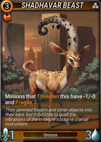 Shadhavar Beast Card Image