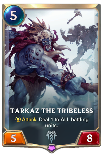 Tarkaz the Tribeless Card Image