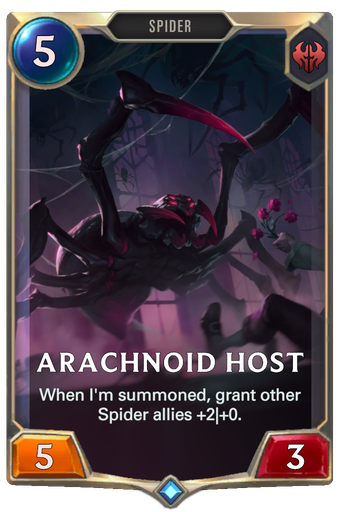 Arachnoid Host Card Image
