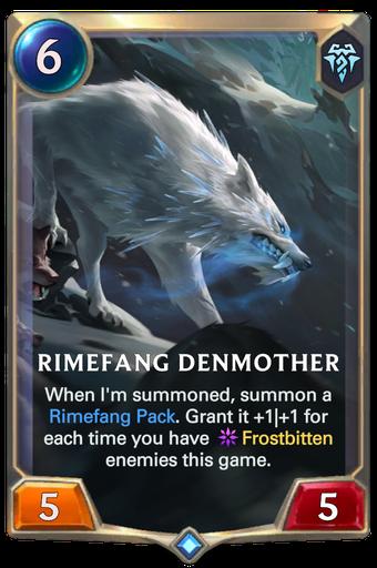 Rimefang Denmother Card Image