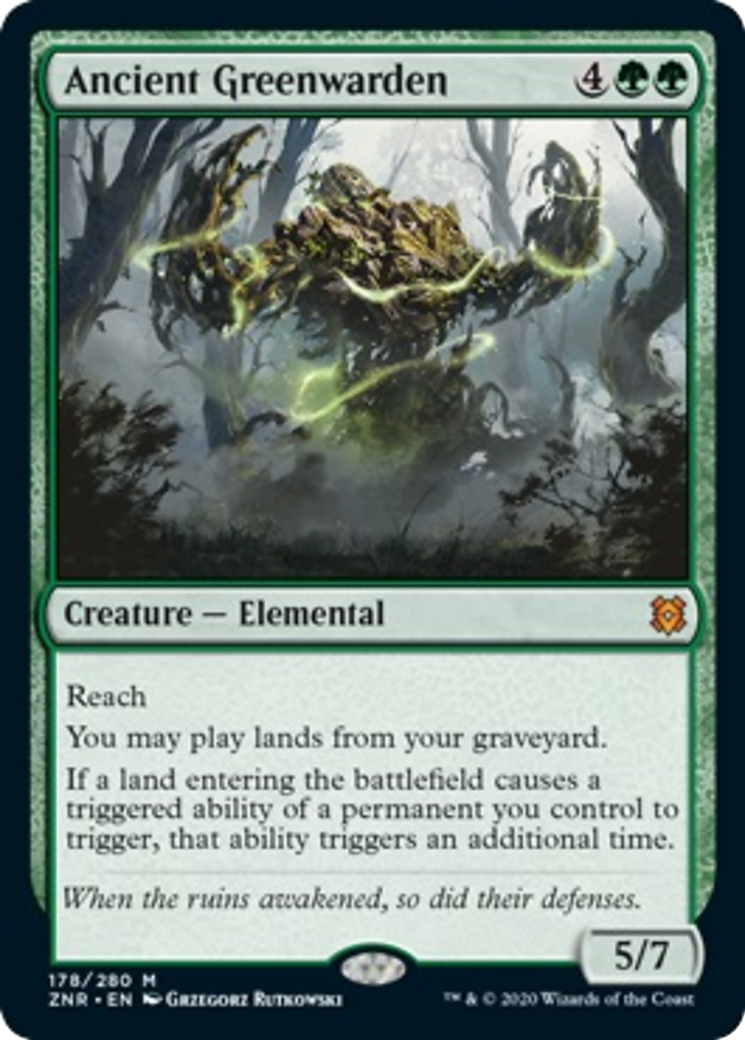 Ancient Greenwarden Card Image