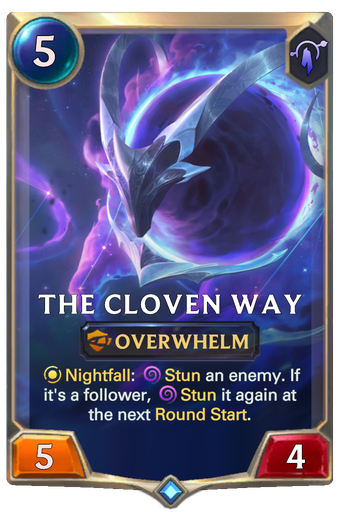 The Cloven Way Card Image