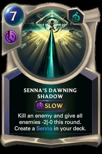 Senna's Dawning Shadow Card Image