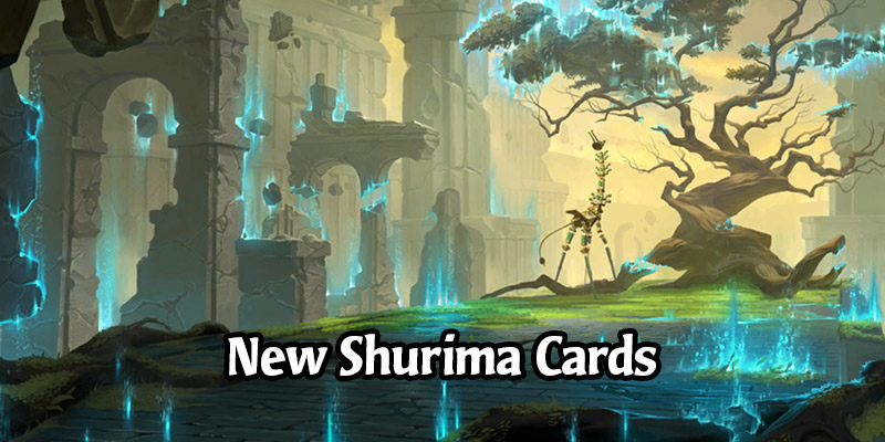 New Shurima Cards and Landmarks for Runeterra's Empires of the Ascended Expansion