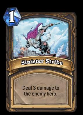 Sinister Strike Card Image