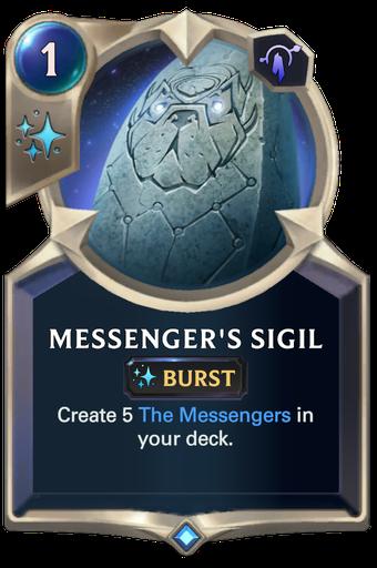 Messenger's Sigil Card Image