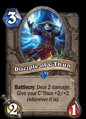 Disciple of C'Thun Card Image