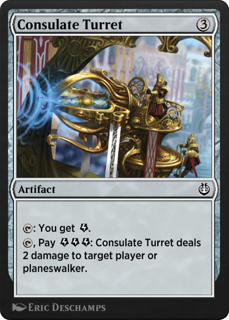 Consulate Turret Card Image