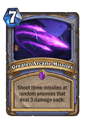 Greater Arcane Missiles Card Image