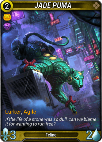 Jade Puma Card Image