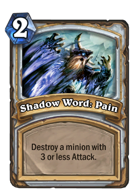 Shadow Word: Pain Card Image
