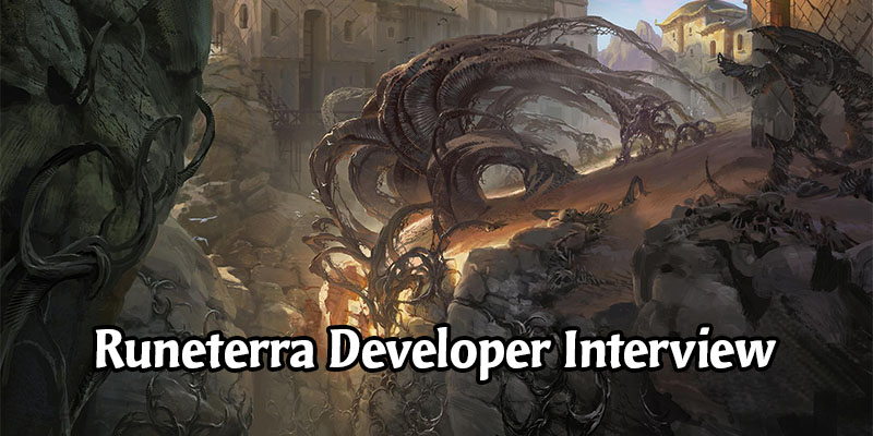 Director Interview Covers Card Cosmetics, Multiplayer Mode, and Original Champions for Legends of Runeterra