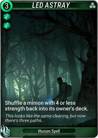 Led Astray Card Image