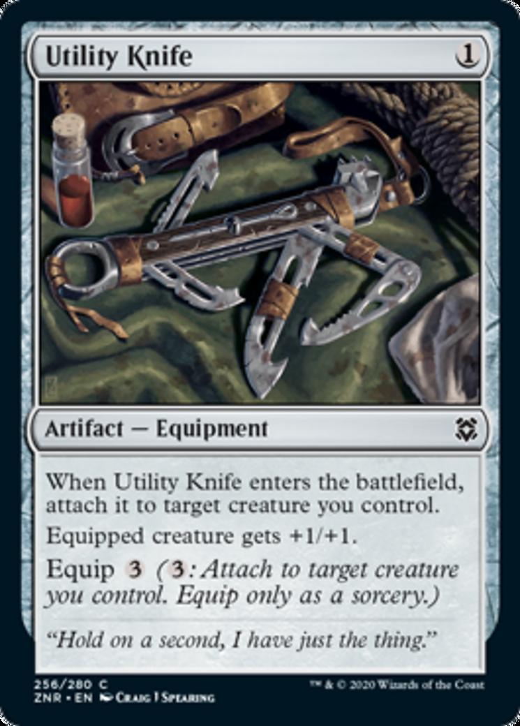 Utility Knife Card Image